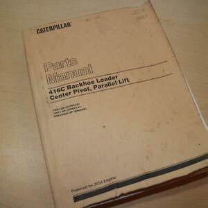 CAT Caterpillar 416C Backhoe Loader Parts Manual Book SEBP2549 1996 catalog list