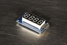 4-Digit Digital Tube LED Display Module w/ Clock TM1637 for Arduino US