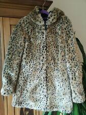Para Mujer Abrigo cálido de ropa Zara, Capucha Bolsillos animal XS
