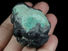 171.4Ct Natural Spiderweb Turquoise Rough Specimen MYKM1877