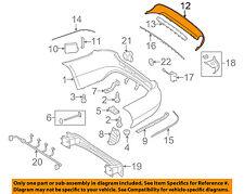 MERCEDES OEM 10-13 E350 Rear Bumper-Lower Cover 2128855425