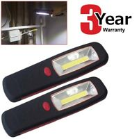2 x 5W ULTRABRIGHT 350 LUMEN COB LED WORKLIGHT GARAGE INSPECTION LAMP TORCH