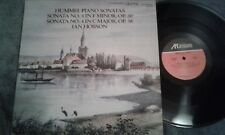 HUMMEL PIANO SONATAS - IAN HOBSON   1986 ARABESQUE DIGITAL  GERMAN IMPORT  NM LP