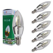 6x/12x LED Lámpara Vela E14 SES 6W Bombillas LUZ FRÍA CALIDO BLANCO ENVÍO GRATIS