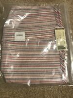 Longaberger Market Stripe Hostess Hat Box Hatbox Basket Liner #28521130 - NEW