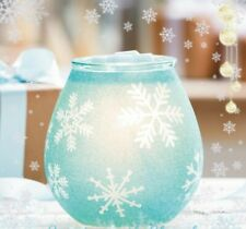 Scentsy crystallize blue warmer