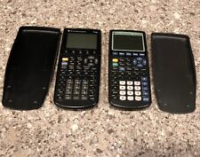 Lot Of 2 Texas Instruments Calculators Ti-83 Plus and Ti-86 For Parts Or Repair
