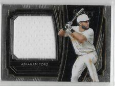 [101] Abraham Toro Rookie Jersey Relic Baseball Select Card