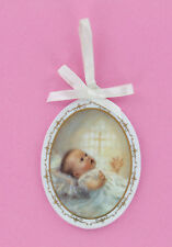 Religious Baby Ornament - God's Treasure - I am with you Always, Child of God