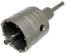 SDS Plus 65 mm Bohrkrone Dosenbohrer Lochbohrer Kernbohrer  mit Bohrer