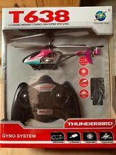 3 Kanal RC Hubschrauber Helikopter T638 Thunderbird ferngesteuert NEU + OVP
