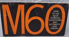 Polaroid M60 Land camera instruction manual