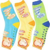 3 Pares de calcetines invierno antideslizantes mujer niña talla 36 37 38 39 40