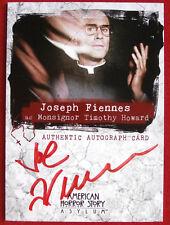 AMERICAN HORROR STORY - ASYLUM - JOSEPH FIENNES as Monsignor - Autograph Card A