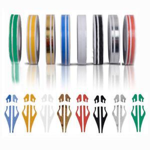 1 Roll 9.8M Pinstripe Steamline DOUBLE LINE Tape Car Body Decal Vinyl Sticker
