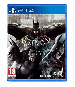 Batman Arkham Collection PS4 Playstation 4 Brand New Sealed