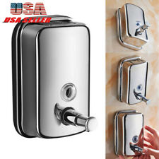 Stainless Steel Wall Mounted Soap Dispenser Body/Hand/Hair Wash Dispenser
