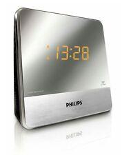 Philips AJ3231/05 Clock Radio Mirror Finish Display Fast & Free Postage RRP £29