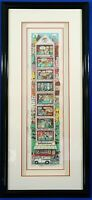 """Charles Fazzino """"What's Up Doc?"""" 3D Artwork Signed Numbered Well Framed"""