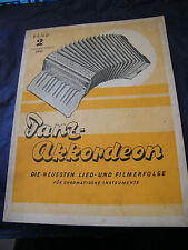 Partition Tanz Akkordeon Band 2 Edition Schott 2541 Music Sheet