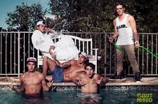"The Janoskians Music Band Group Silk Cloth Poster 20 x 13"" Decor 10"