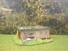 H0 1:87 Verlassener Bungalow Märklin Fleischmann Roco Diorama Modelleisenbahn
