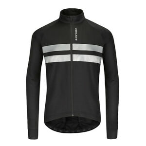 Sundried Mens Long Sleeve Cycling Jersey Road Bike Bicycle Clothing Thermal