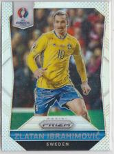 Panini Euro Cup 2016 Prizm Zlatan Ibrahimovic Silver Prizm