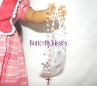Rosary Beads+Cross Bag 18 in Doll Clothes Accessory Fits American Girl