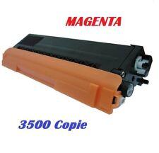 CARTUCCIA PER  BROTHER HL4140 HL4150 HL4500 TONER TN325 MAGENTA 3500 COPIE