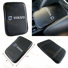 For Volvo Embroidery Carbon Car Center Console Armrest Cushion Mat Pad Cover X1 (Fits: Volvo)