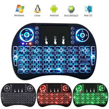 Air Mouse 2.4GHz Backlit Wireless Touchpad Keyboard For PC Android TV Box Mini