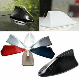 Car Shark Fin Roof Antenna Radio FM/AM Decor Aerial For Hyundai Toyota Black