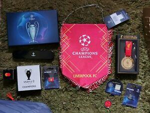 Champions League Final 2019 Job Lot. Liverpool Vs Tottenham Hotspur