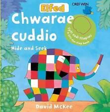 Elfed Yn Chwarae Cuddio/Elfed Hide and Seek (Cyfres Elfed) by Roger Boore, David