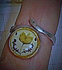 Beschichtete Ringe ohne Steine aus echtem Edelmetall 52 (16,5 mm Ø)