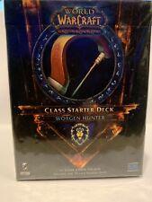 WORLD OF WARCRAFT CLASS STARTER Worgen Hunter NIB Sealed