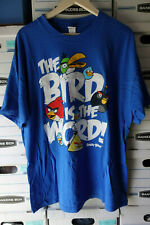 """Men's Angry Birds """"The Bird is the Word""""  t-shirt Size XLARGE"""