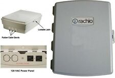 Rachio Outdoor Weatherproof Enclosure Box W/ 120 VAC Power Panel