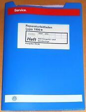 Reparaturleitfaden VW Lupo  4AV Einspritz , Zündanlage 1,4l 16V  55 / 74kW