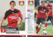 Stefan REINARTZ + Bayer 04 Leverkusen + Saison 2009/2010 + Autogrammkarte