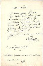 LE PEINTRE MICHEL MARTIN DRÖLLING RECOMMANDE UN ELEVE EN 1840