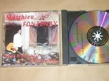 CD RARE / MATTHIEU FONTENAY / FERME POUR CAUSE D'INVENTAIRE / BON ETAT
