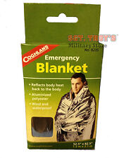 COGHLANS EMERGENCY BLANKET BUG OUT BAG SURVIVAL PREPPERS GEAR BACKPACK GEAR NEW