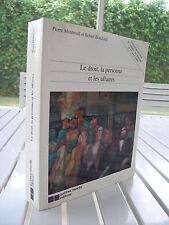 LE DROIT LA PERSONNE ET LES AFFAIRES BY PIERRE MONTREUIL 1994 ISBN 2891055225