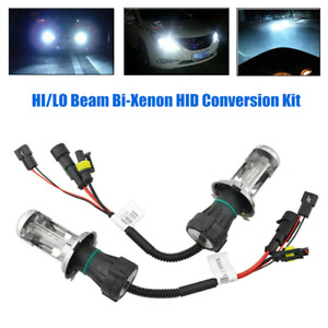 2XH4/9003 HID HI/LO Light beam Bixenon Headlamp Car Suv Drive Light Bulb AC 55W