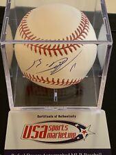 RAFAEL DEVERS Signed OMLB Baseball COA JSA Sticker Only w/ Case Auto