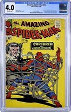 AMAZING SPIDER-MAN # 25 ~ CGC 4.0 ~ 1st Cameo Mary Jane & 1st Spider Slayer! 1 4