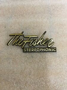 The Fisher Stereophonic Emblem Console