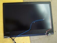 """New listing Lenovo ThinkPad T470 14"""" Matte Fhd Lcd Screen Assembly Black Cover Hinges"""